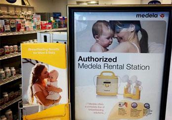 Medela's Rental Station