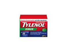Tylenol Extra Strength – Sinus|20 Nighttime Tablets – Now Only $6.39
